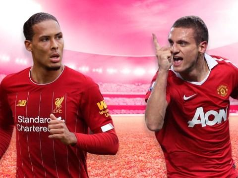 Frank Leboeuf compares Liverpool's Virgil van Dijk and Man Utd hero Nemanja Vidic