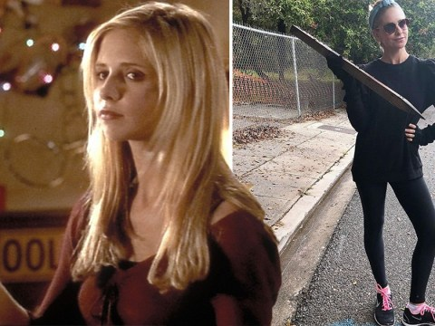 Buffy's back! Sarah Michelle Gellar urges fans to 'beep' her if apocalypse comes amid coronavirus panic