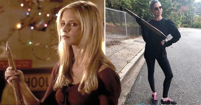 Buffy's Sarah Gellar
