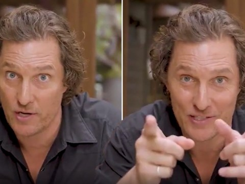 Matthew McConaughey is the calm we all need during coronavirus pandemic in soothing video