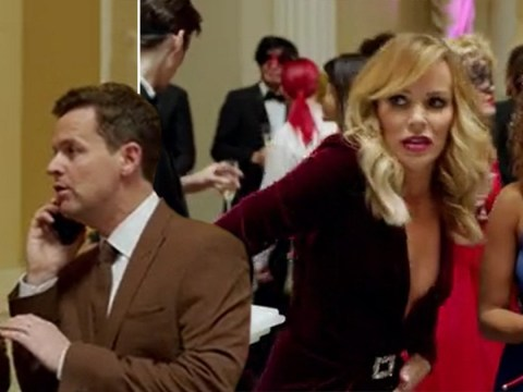 Amanda Holden legs it away from Ant and Dec to vomit in first look at Saturday Night Takeaway