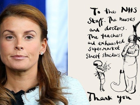 Coleen Rooney thanks the NHS for their sacrifices as the UK battles coronavirus outbreak