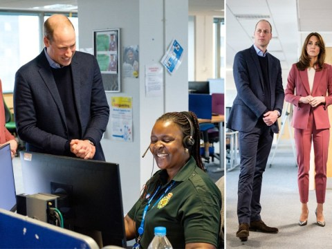 William and Kate in secret visit to frontline NHS staff tackling coronavirus outbreak