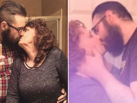 Couple with 53-year age gap start a TikTok channel where all they do is snog
