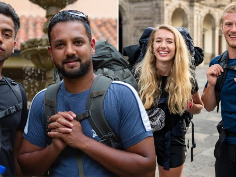Race Across The World's Dom and Lizzie Slater reveal what you don't see: 'Emon and Jamiul had their game face on'