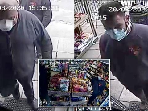 Thieves raid village shop wearing coronavirus masks
