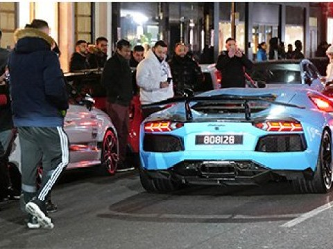 Boy racers ignore safety advice and descend on London's empty streets