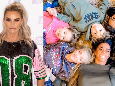 Katie Price 'struggling' without seeing 'dying' mum and four kids amid coronavirus lockdown