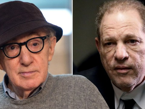 Woody Allen admits he could 'never' work with Harvey Weinstein