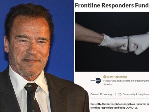 Arnold Schwarzenegger sets up Go Fund Me to buy vital PPE for medics battling coronavirus