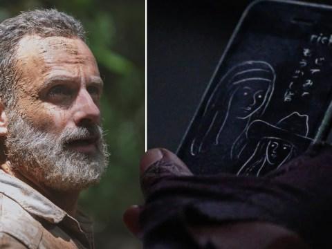 The Walking Dead showrunner reveals hidden message on Rick Grimes' phone as coronavirus postpones finale
