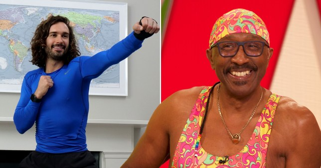 Mr Motivator and Joe Wicks