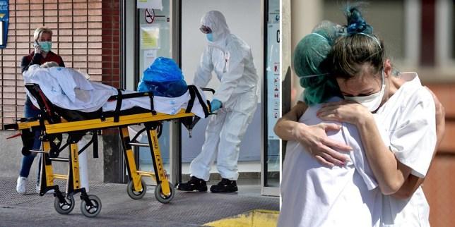 Spanish health workers