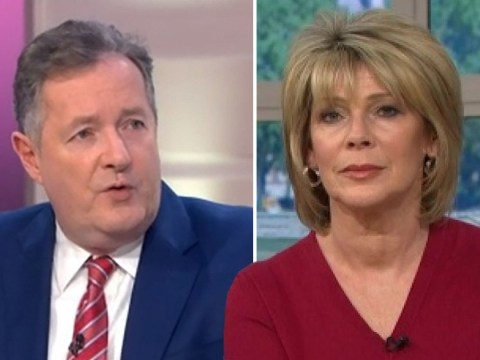 Piers Morgan has been giving Ruth Langsford anxiety about the coronavirus outbreak