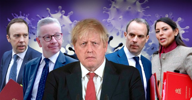 Who will take over now Boris Johnson has coronavirus?