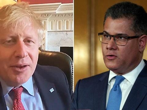Alok Sharma provides update on Boris Johnson's health after coronavirus diagnosis
