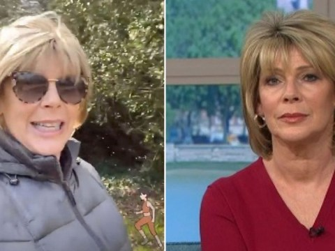 Ruth Langsford enjoys stroll in the sun despite being 'anxious' of coronavirus outbreak
