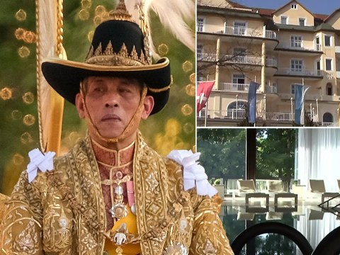 Thai king 'self-isolates' in luxury German spa hotel with 'harem of 20 women'
