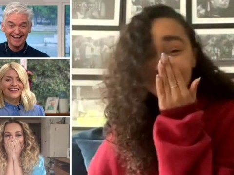 Little Mix's Leigh-Anne Pinnock causes chaos on This Morning as barking dog interrupts video interview: 'I'm so sorry!'