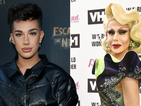 James Charles feuds with Drag Race's Trinity The Tuck over Twitter thirst trap