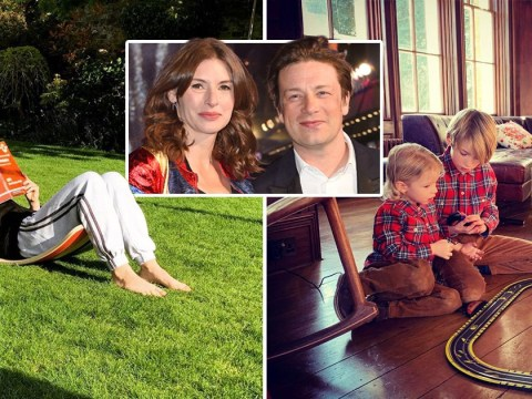 Inside Jamie Oliver's cosy £6m country mansion where he's self-isolating with Jools and children