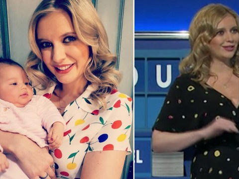 Rachel Riley admits she mistook a hot water bottle for her baby