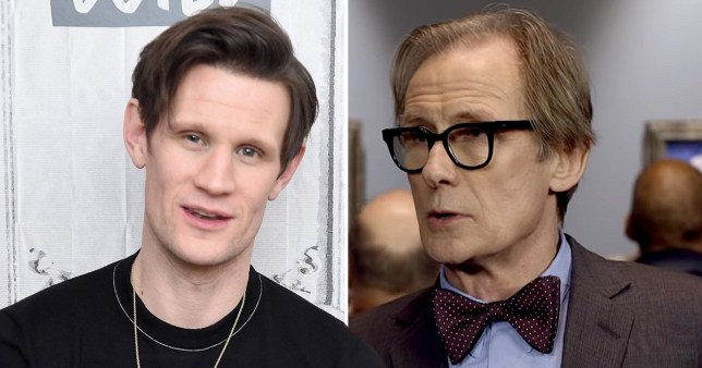 Matt Smith bill Nighy