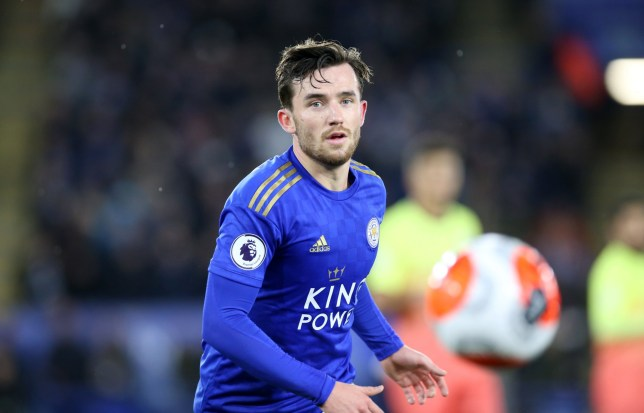 Ben Chilwell could miss Leicester's clash with Aston Villa on Monday evening