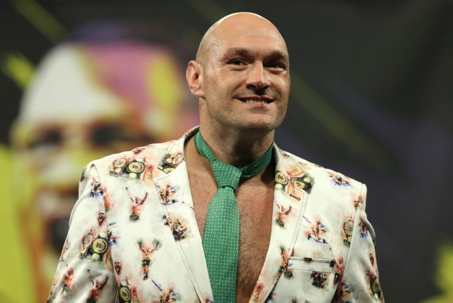Tyson Fury during the post-fight press conference at the MGM Grand, Las Vegas. PA Photo. Picture date: Sunday February 23, 2020. See PA story BOXING Las Vegas. Photo credit should read: Bradley Collyer/PA Wire.