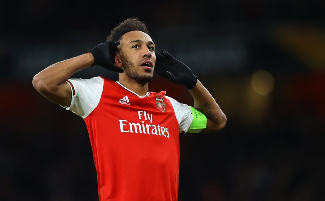 Pierre-Emerick Aubameyang is reportedly demanding £300,000 a week to stay at Arsenal