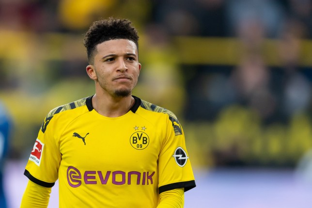 Jadon Sancho is keen on returning to the Premier League (Picture: Getty)