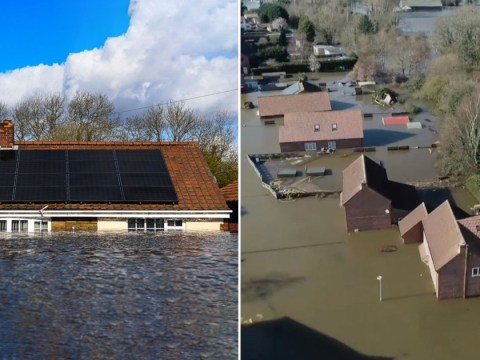 Homes submerged under water and still no visit from Boris after 15 days