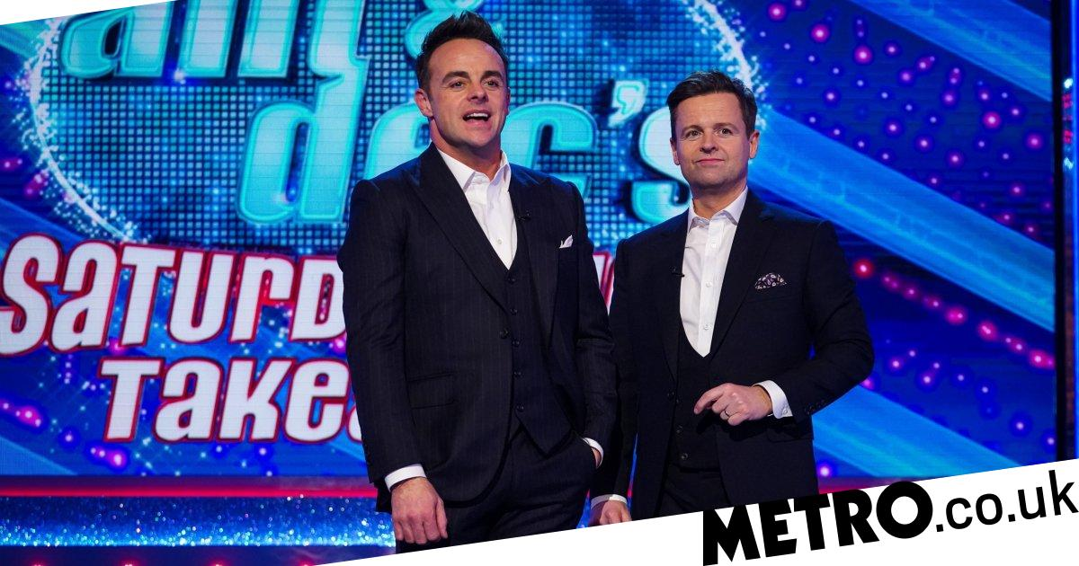 Ant and Dec rehearse Saturday Night Takeaway over video call amid pandemic