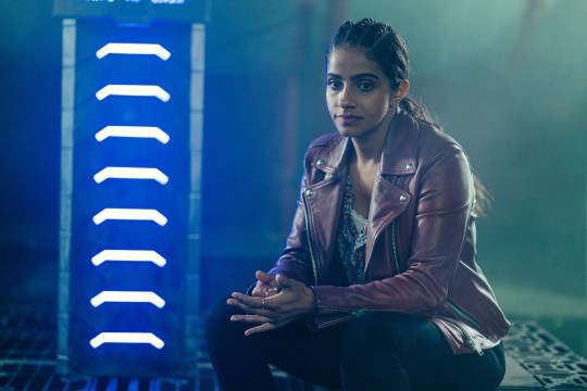 Mandip Gill as Yaz in Doctor Who