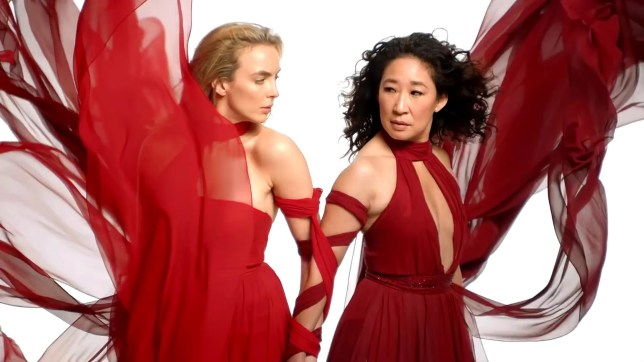 BGUK_1888111 - Los Angeles, - Killing Eve Season 3 Trailer starring Sandra Oh and Jodie Comer --------- *BACKGRID DOES NOT CLAIM ANY COPYRIGHT OR LICENSE IN THE ATTACHED MATERIAL. ANY DOWNLOADING FEES CHARGED BY BACKGRID ARE FOR BACKGRID'S SERVICES ONLY, AND DO NOT, NOR ARE THEY INTENDED TO, CONVEY TO THE USER ANY COPYRIGHT OR LICENSE IN THE MATERIAL. BY PUBLISHING THIS MATERIAL , THE USER EXPRESSLY AGREES TO INDEMNIFY AND TO HOLD BACKGRID HARMLESS FROM ANY CLAIMS, DEMANDS, OR CAUSES OF ACTION ARISING OUT OF OR CONNECTED IN ANY WAY WITH USER'S PUBLICATION OF THE MATERIAL* Pictured: Sandra Oh and Jodie Comer BACKGRID UK 1 MARCH 2020 UK: +44 208 344 2007 / uksales@backgrid.com USA: +1 310 798 9111 / usasales@backgrid.com *UK Clients - Pictures Containing Children Please Pixelate Face Prior To Publication*