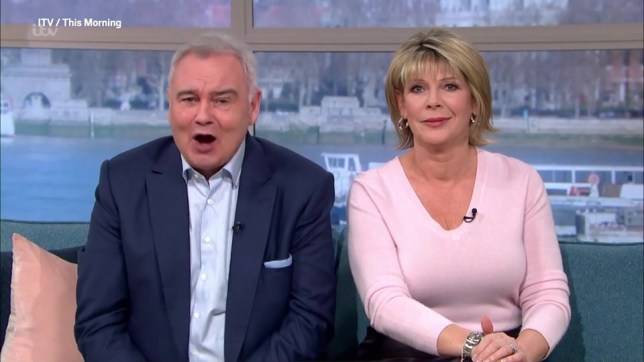 Ruth Langsford awkwardly shuts down Eamonn Holmes as he tries to make big announcement
