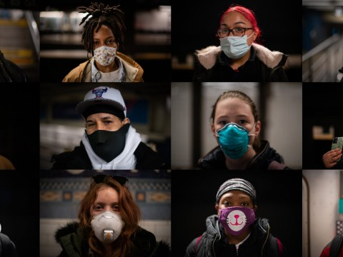 New Yorkers show off their best coronavirus fashion in stylish face masks