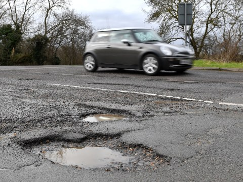 Budget 2020: £2,500,000,000 to be poured into potholes over next five years