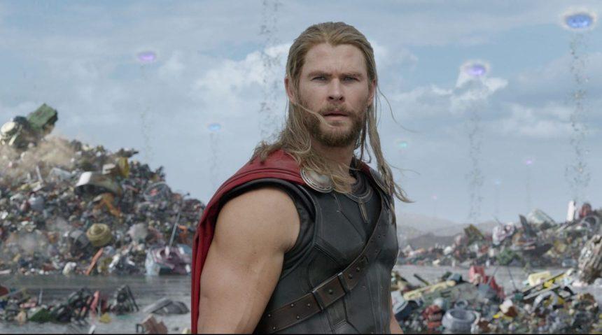 Chris Hemsworth as Thor in Thor: Ragnarok