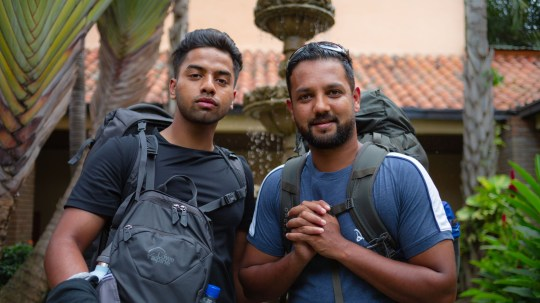 Race Across the World -  Honduras Jamiul, Emon