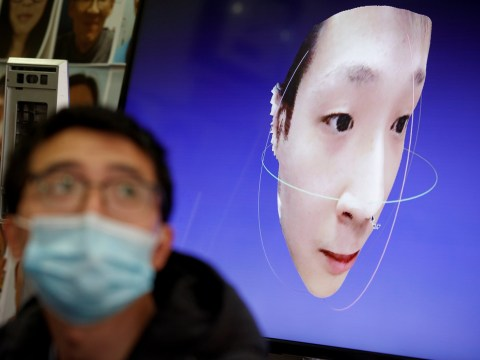 Chinese company develops facial recognition software to ID people in face masks