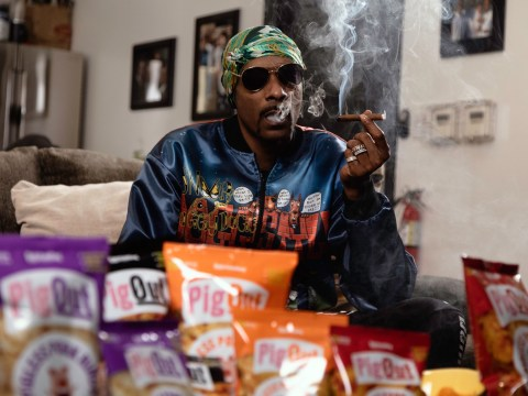 Snoop Dogg finds 'cure for munchies' in new vegan pork-free pork snacks and our mouths are salivating