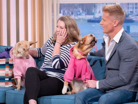 This Morning viewers' hearts melted by deformed dog Millie | Metro ...