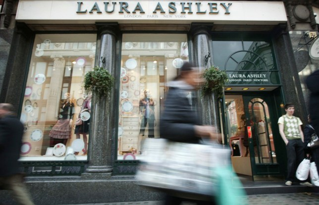 Exterior of the Laura Ashley store on Oxford Steet, London. (Photo by: Newscast/Universal Images Group via Getty Images)