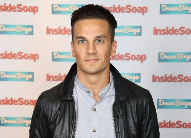 LONDON, ENGLAND - OCTOBER 03: Aaron Sidwell attends the Inside Soap Awards at The Hippodrome on October 3, 2016 in London, England. (Photo by Mike Marsland/Mike Marsland/WireImage)