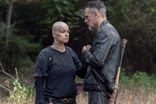 Samantha Morton Jeffrey Dean Morgan The Walking Dead