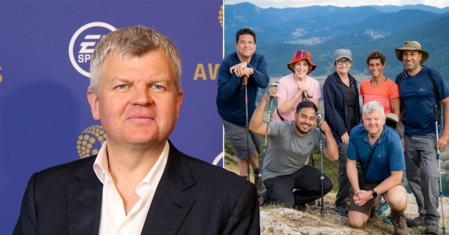 Adrian Chiles diagnosed with potentially fatal illness filming travel show Pictures: BBC/Rex