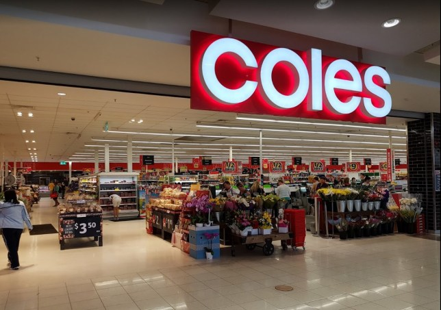 Shoppers stormed a branch of Australian supermarket Coles for toilet paper