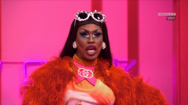 Shea Coulee on RuPaul's Drag Race (Picture: VH1)