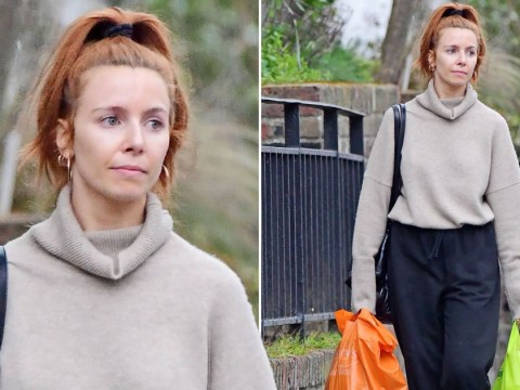 Stacey Dooley stocks up on the essentials as she prepares for self-isolating after Portugal break